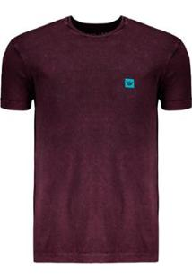 Camiseta Hang Loose Especial Marble Masculina - Masculino-Bordô