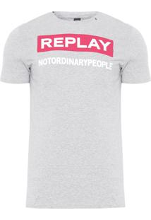 Camiseta Masculina Not Ordinary People - Cinza