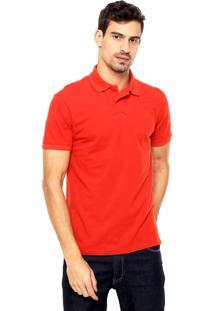 Camisa Polo Malwee Lisa Vermelha