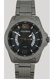 Relógio Analógico Mondaine Masculino - 53702Gpmvse1 Cinza - Único