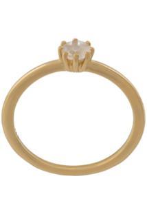 Astley Clarke Anel Linia Mini - Dourado
