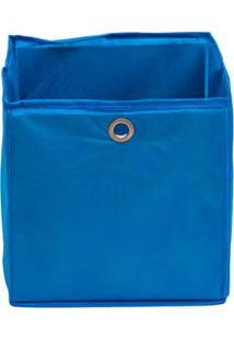 Caixa Organizadora Infantil Dobrável - Azul Royal