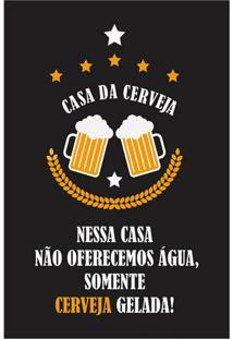 Placa Decorativa Cervejada Colorida