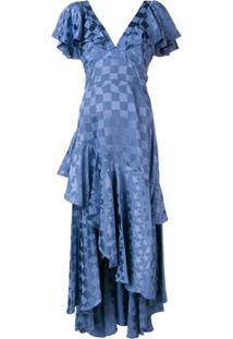 Temperley London Vestido 'Cyndie' - Azul