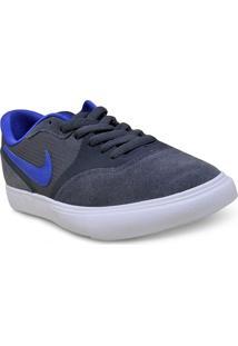 Tenis Masc Nike 819844-050 Sb Paul Rodriguez 9 Vr Grafite/Azul