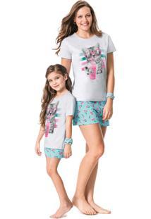 Pijama Com Lenço Malwee Liberta