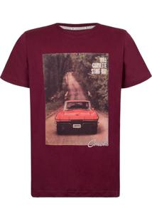 Camiseta Masculina Forest Corvette Incolor