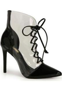 Ankle Boots Brenda Lee Preto Preto