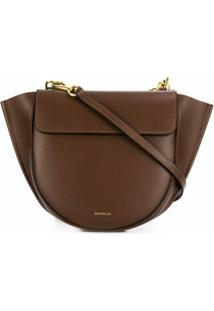 Wandler Hortensia Shoulder Bag - Marrom