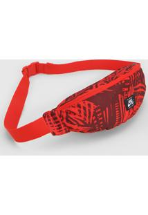 Pochete Nike Sb Heritage Hip Pack Aop Vermelha