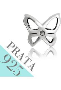 Pingente Prata 925 Borboleta Memories Kumbayá Joias - Feminino-Prata