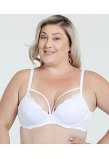 Sutiã Feminino Tiras Strappy Plus Size Marisa