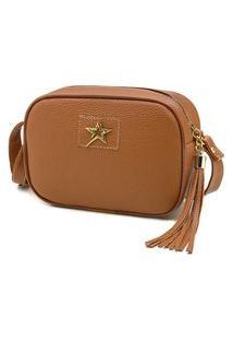 Bolsa Feminina Transversal Nexstar Mini Bag - Caramelo