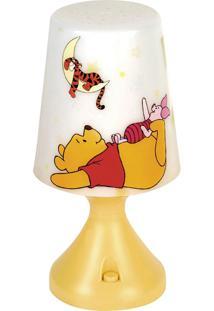 Abajur Led Pooh Startec Branco/Amarelo