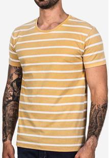 Camiseta Amarela Listrada 101844
