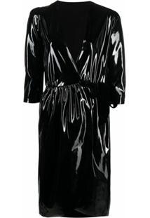 Alchemy Vestido Midi Envelope Lia - Black