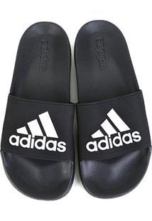 Chinelo Adidas Adilette Shower Masculino - Masculino-Preto+Branco