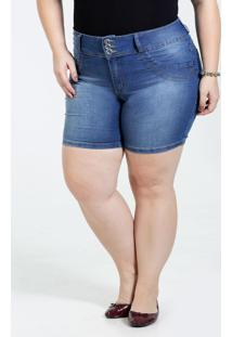 Bermuda Feminino Jeans Plus Size Marisa