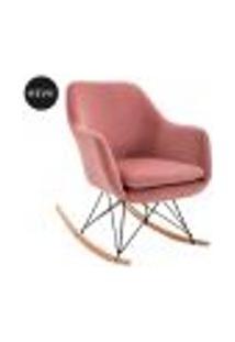 Cadeira De Balanço Dottie Rosa