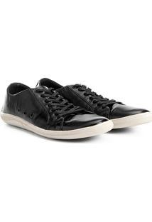 Sapatênis Shoestock Couro Ii Masculino - Masculino-Preto