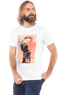 Camiseta Fiveblu Manga Curta Rebellion Branca