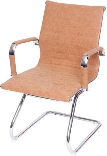 Cadeira Retrô Eames Fixa Caramelo Or Design Caramelo