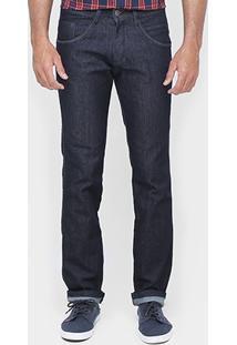 Calça Biotipo Slim Fit Super Escura - Masculino
