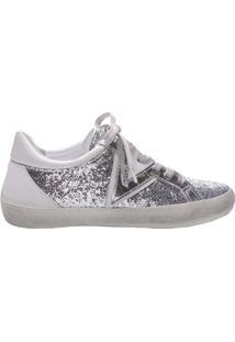 Tênis Sc&C Glitter Silver | Schutz