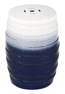 Banco Byhaus Vico Em Cerâmica - Azul/Branco