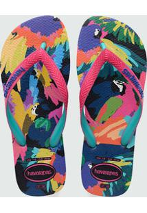 8192f9869 ... Chinelo Feminino Estampado Top Fashion Havaianas