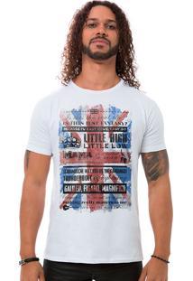 Camiseta Masculina Bohemian Queen Branco B