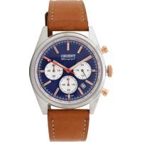 77953e5eed1 Relógio Couro Orient Mtscc030-D1Mx Caramelo Preta