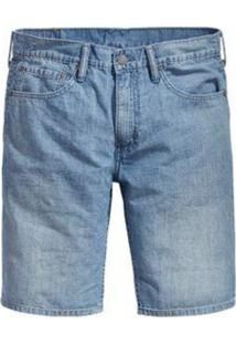 Bermuda Jeans Levis Masculina 511 Slim Hemmed Azul Claro Azul