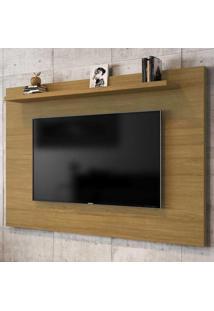 Painel Para Tv Até 50 Polegadas 1 Prateleira Kenzo 2075326 Cinamomo - Bechara Móveis