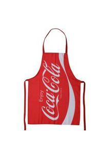 Avental Coca-Cola Vermelho 50X70Cm Licenciado