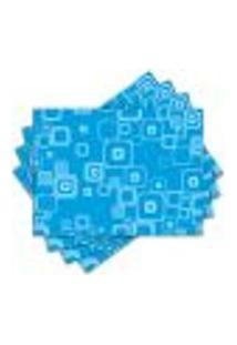 Jogo Americano - Blue Com 4 Peças - 100Jo