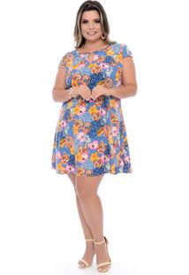Vestido Flora Plus Size