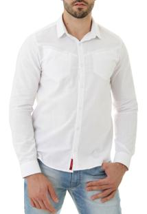 Camisa Opera Rock Com Recorte New Branco