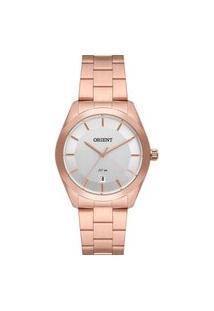 Relógio Feminino Analógico Rosê Orient - Frss1059S1Rx Rosa