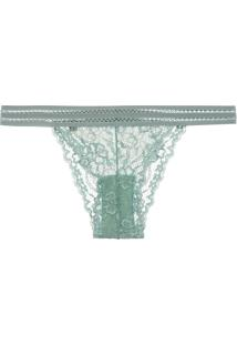 Calcinha Tanga String Great - Verde