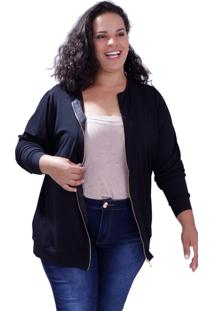 Cardigan Vickttoria Vick Zipper Fernanda Plus Size
