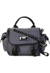Bolsa Santa Lolla Handbag Nylon Feminina - Feminino-Cinza