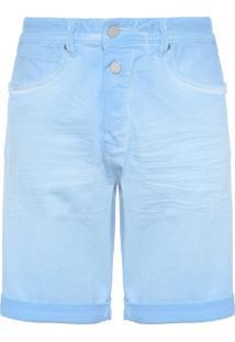 Bermuda Masculina Jeans Rbj901 - Azul