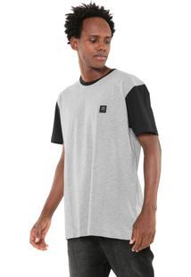 Camiseta Hang Loose Monofin Ulino Cinza