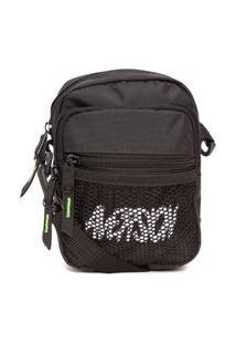 Bolsa Masculina Shoulder Bag Model Mesh - Preto
