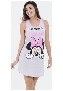 Camisola Feminina Estampa Minnie Nadador Disney