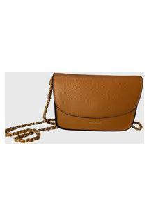 Bolsa Shoulder Bag Dumond Caramelo