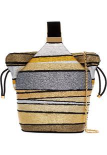 Bienen Davis Kit Bucket Bag - Dourado