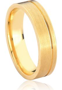 Aliança De Casamento Em Ouro 18K 5,6Mm