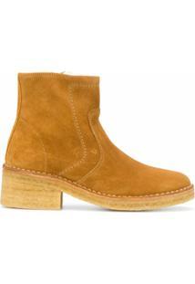 A.P.C. Ankle Boot Ariette - Marrom